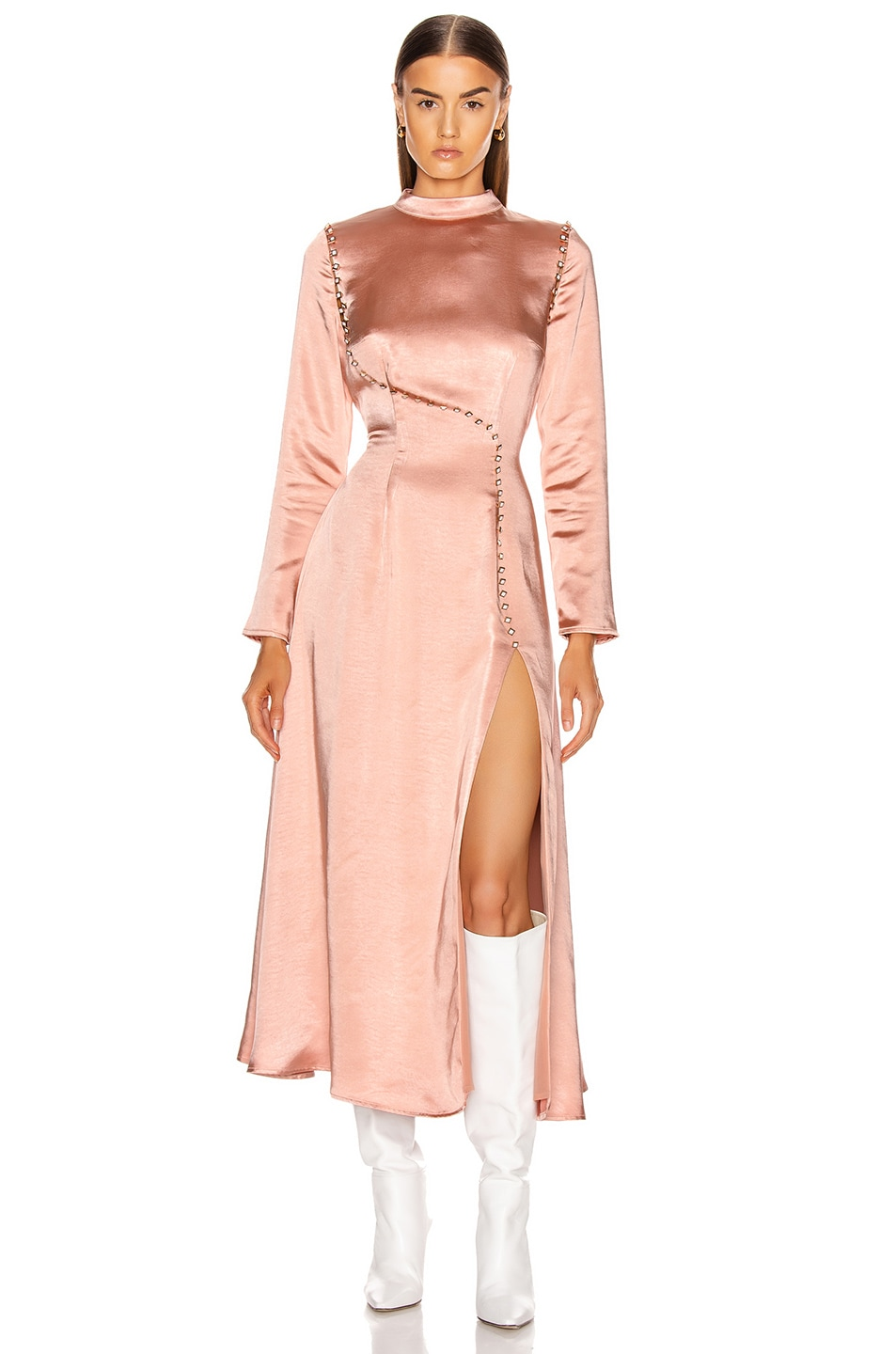 Image 1 of Atoir Walk Away Dress in Muted Clay