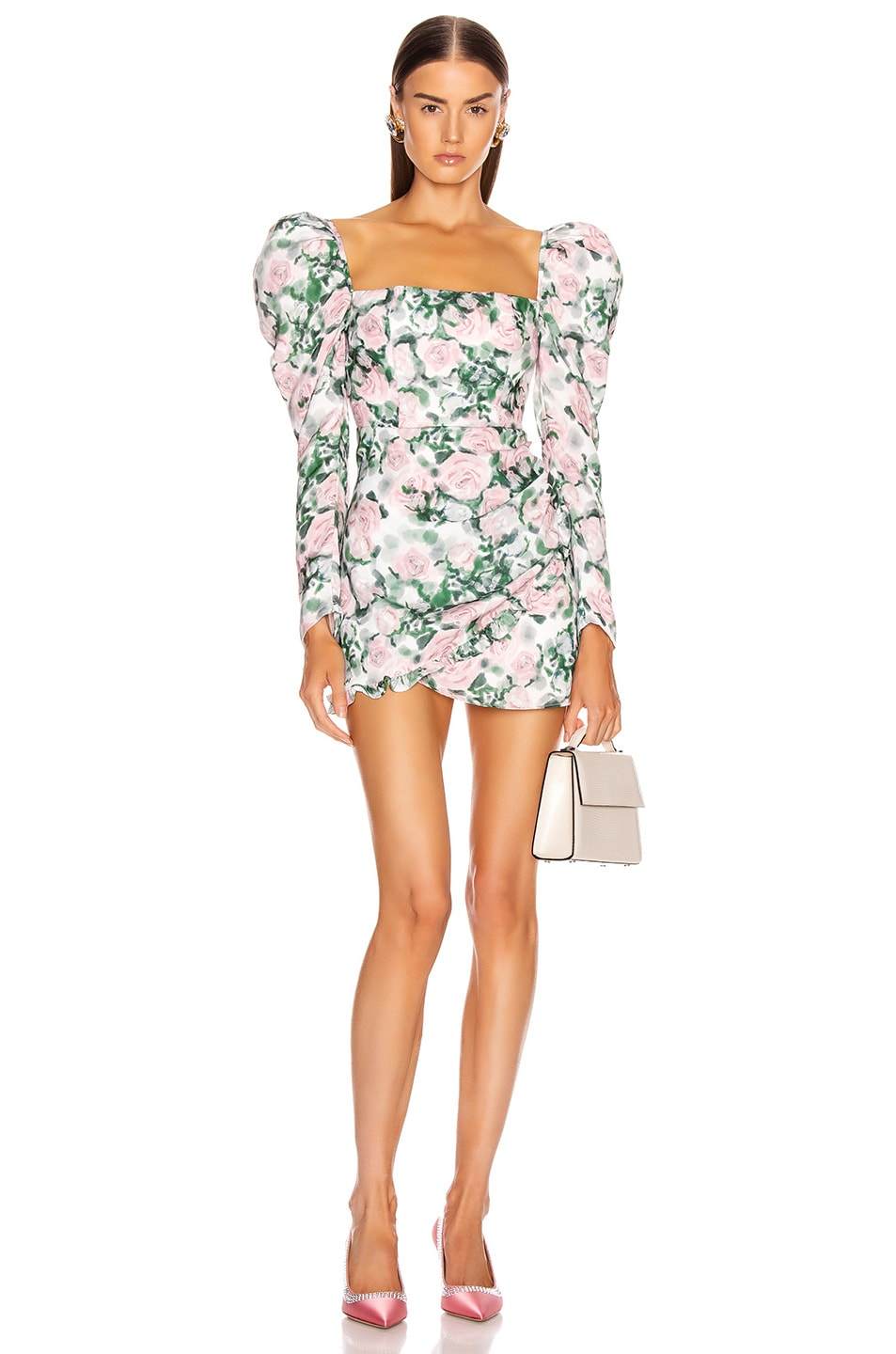 Image 1 of Atoir The Contessa Dress in Chateau Rose Print