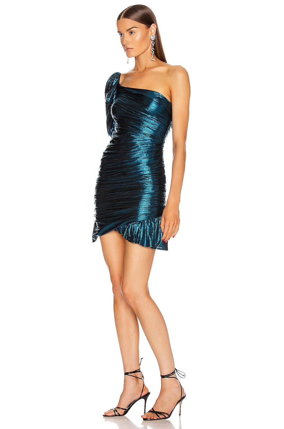 Image 3 of Atoir The Chicago Dress in Teal