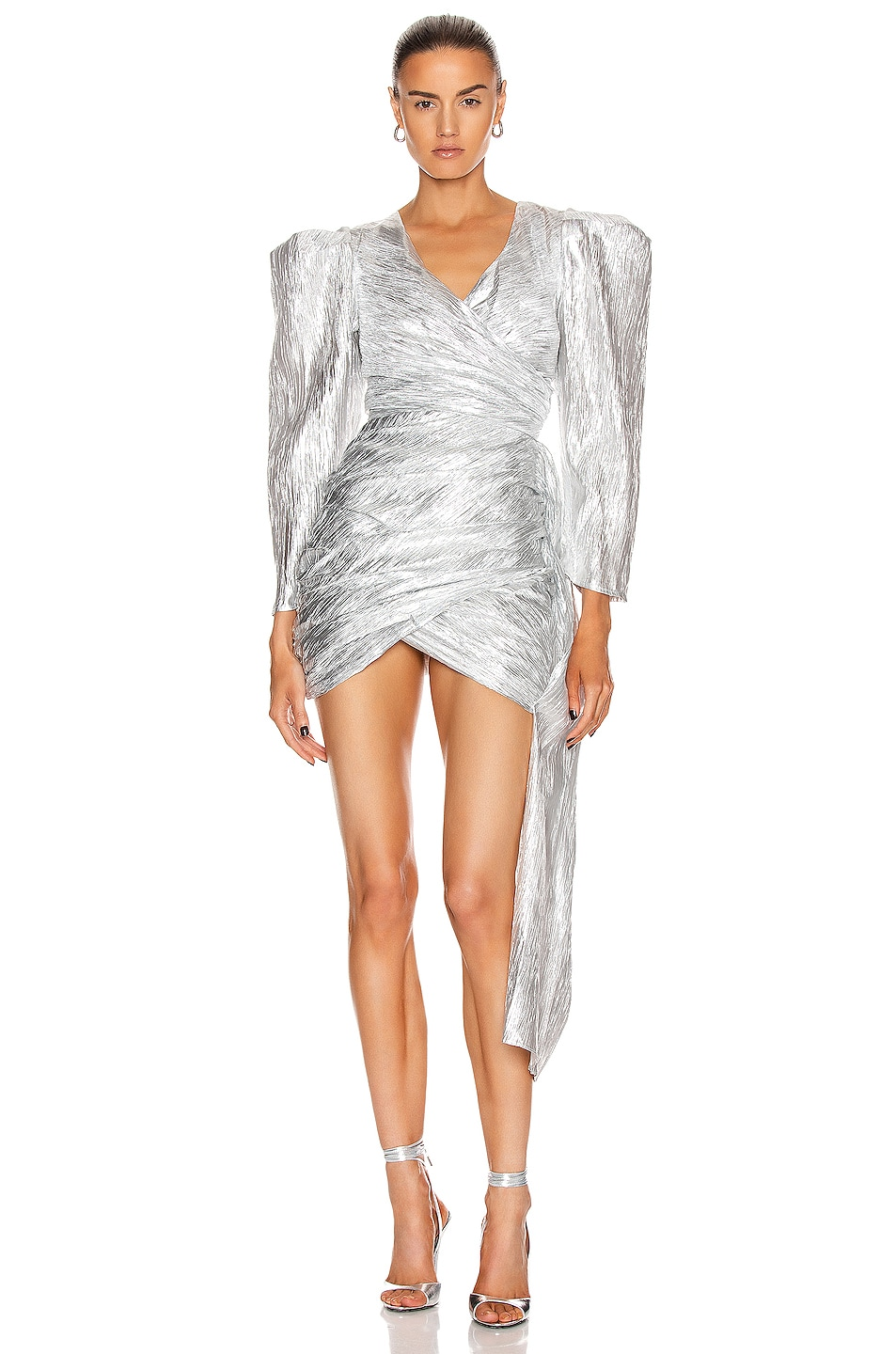 Image 1 of Atoir The Luna Dress in Silver Lining