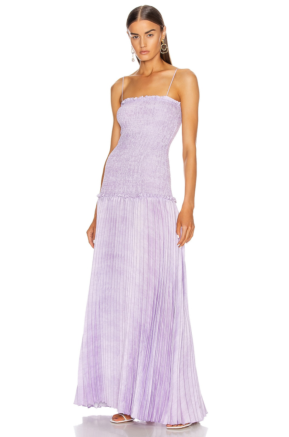 Image 1 of Atoir Every Promise Dress in Violet