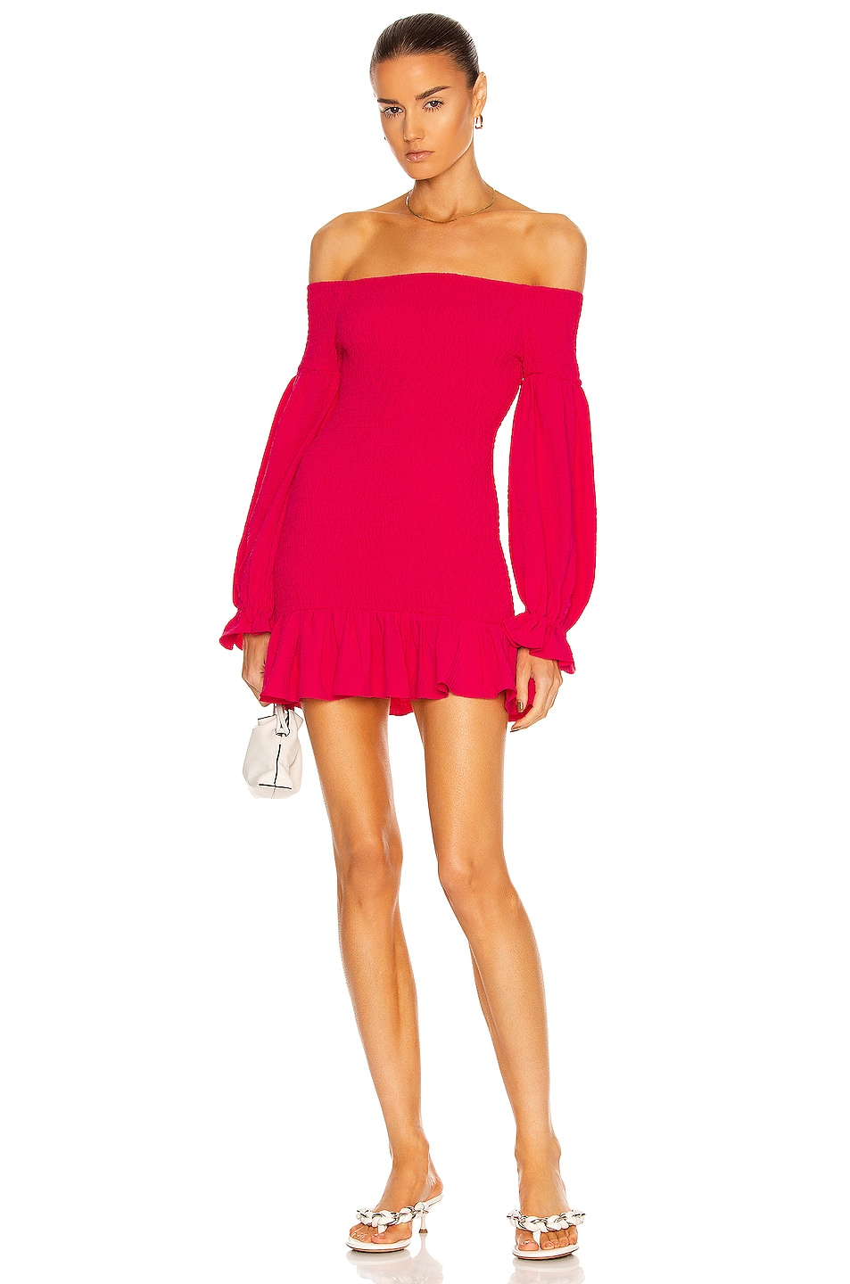 Image 1 of Atoir The Ayla Dress in Rouge Pink