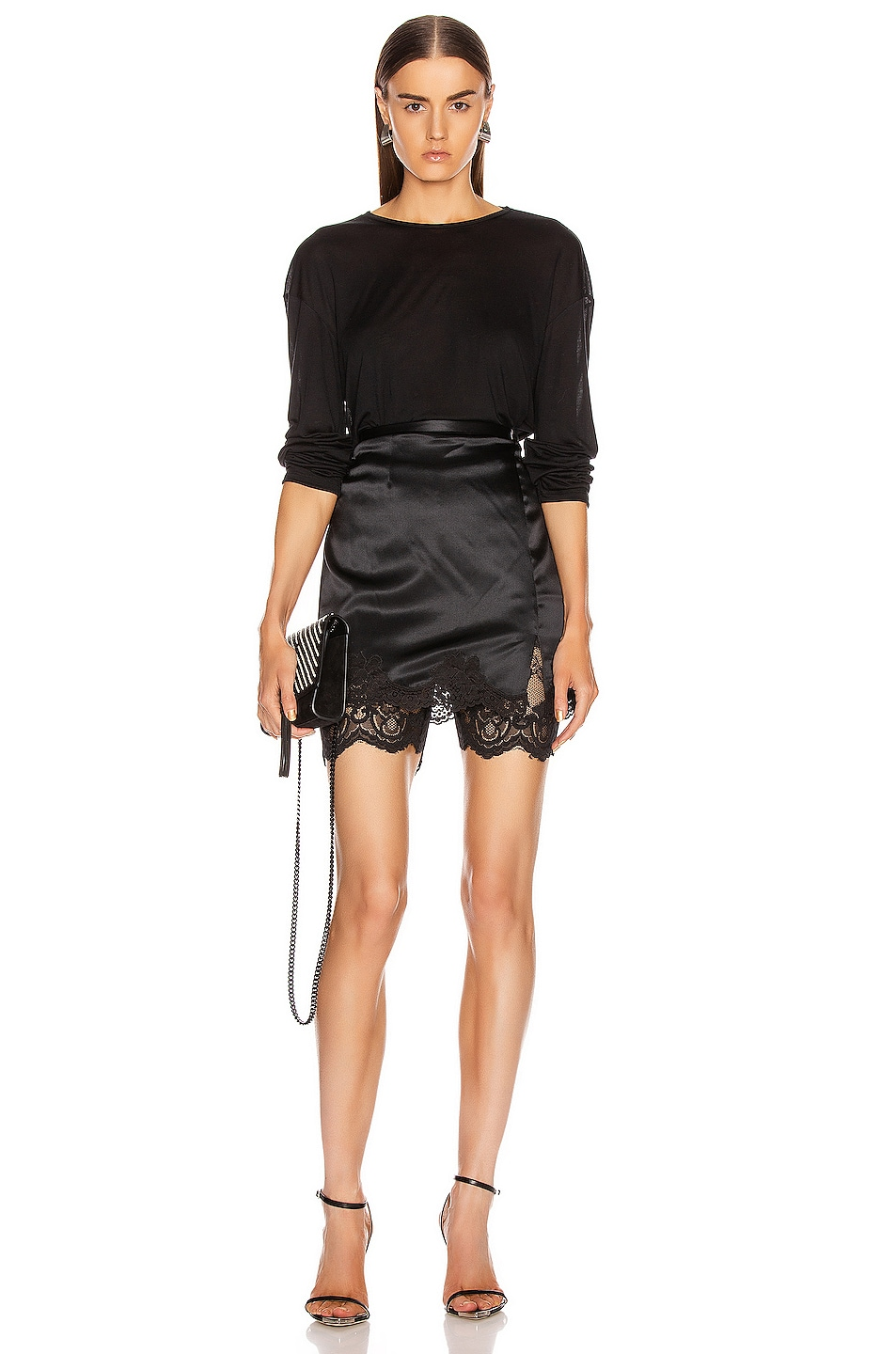 Image 4 of Atoir Only One Shorts in Black Lace