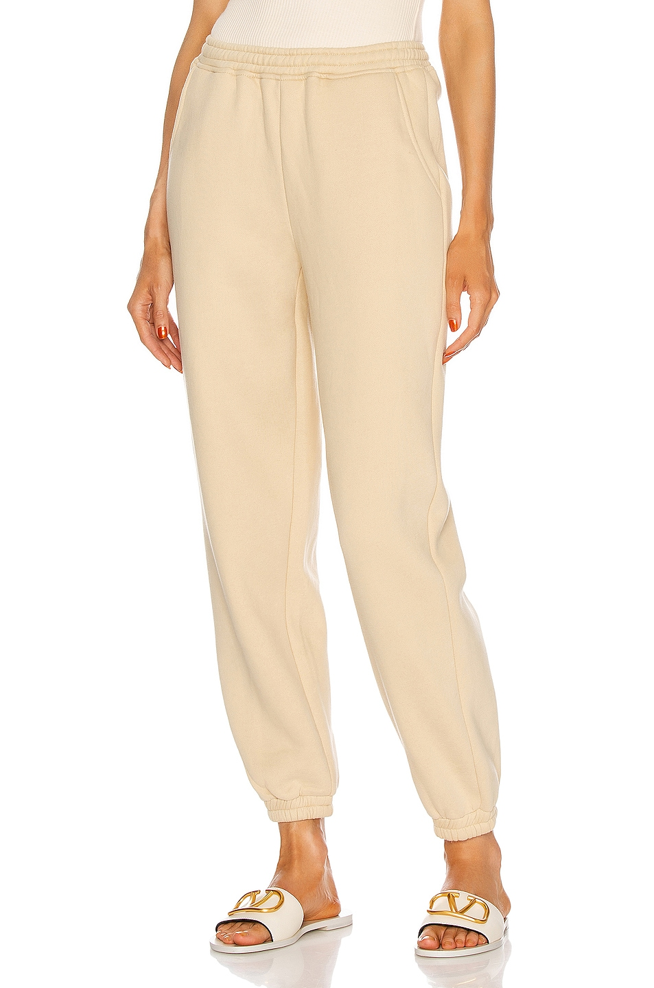 Image 1 of Atoir Track Pant in Oatmeal