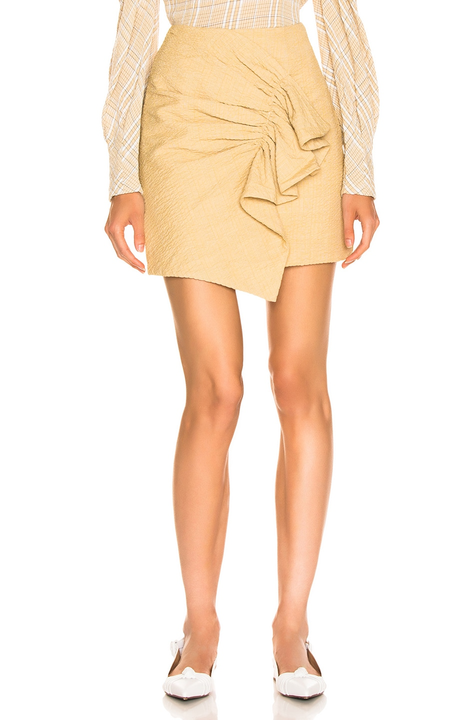 Image 1 of Atoir Golden Years Skirt in Golden Mist