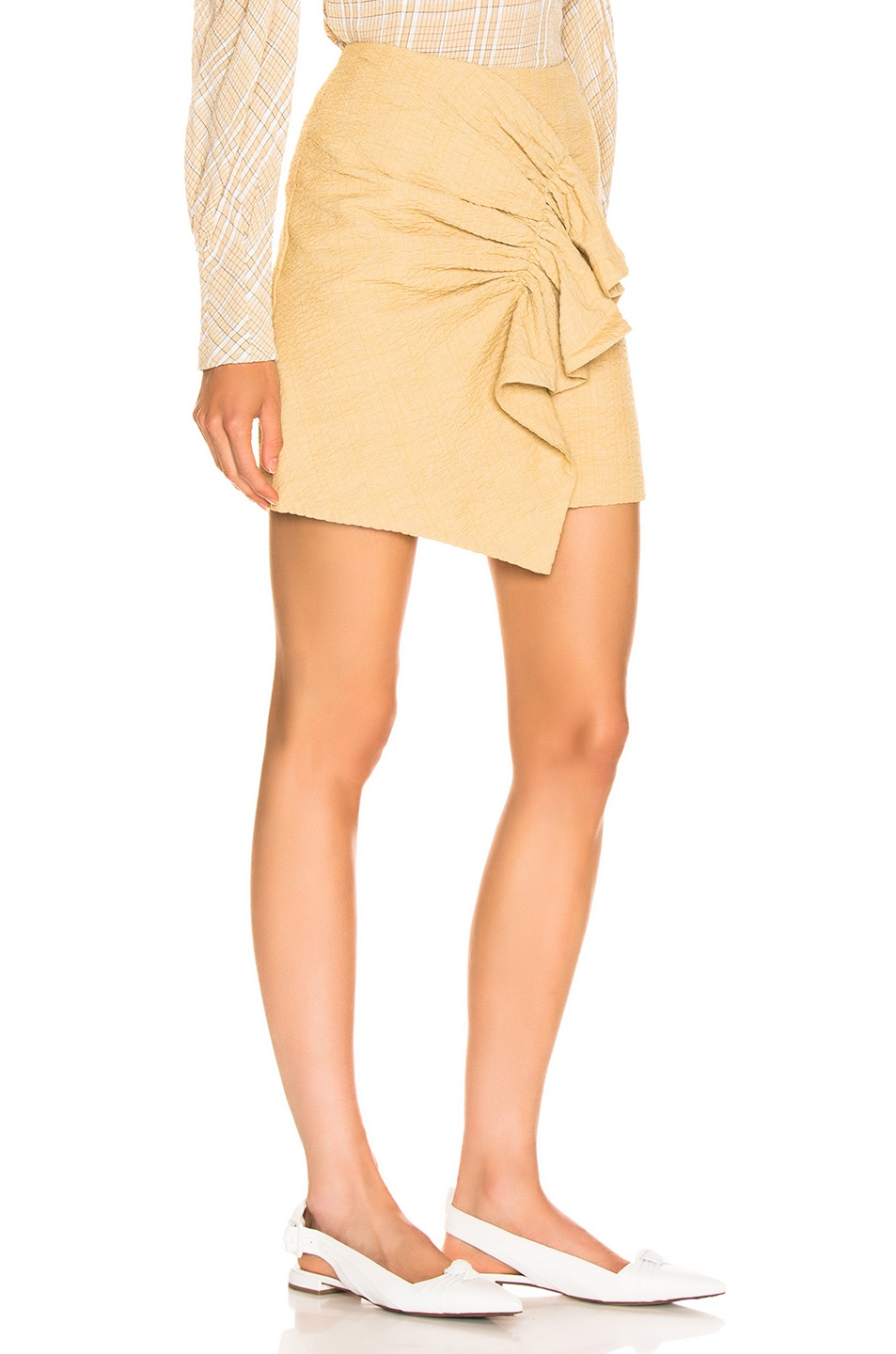 Image 2 of Atoir Golden Years Skirt in Golden Mist