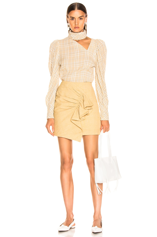 Image 5 of Atoir Golden Years Skirt in Golden Mist