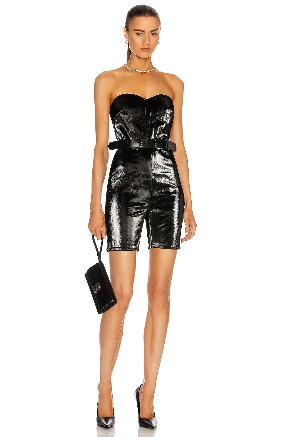 Image 1 of Atoir Raining Diamonds Jumpsuit in Black