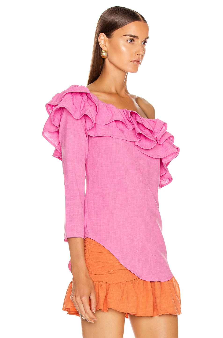 Image 2 of Atoir Not Going Back Top in Fuchsia Pink