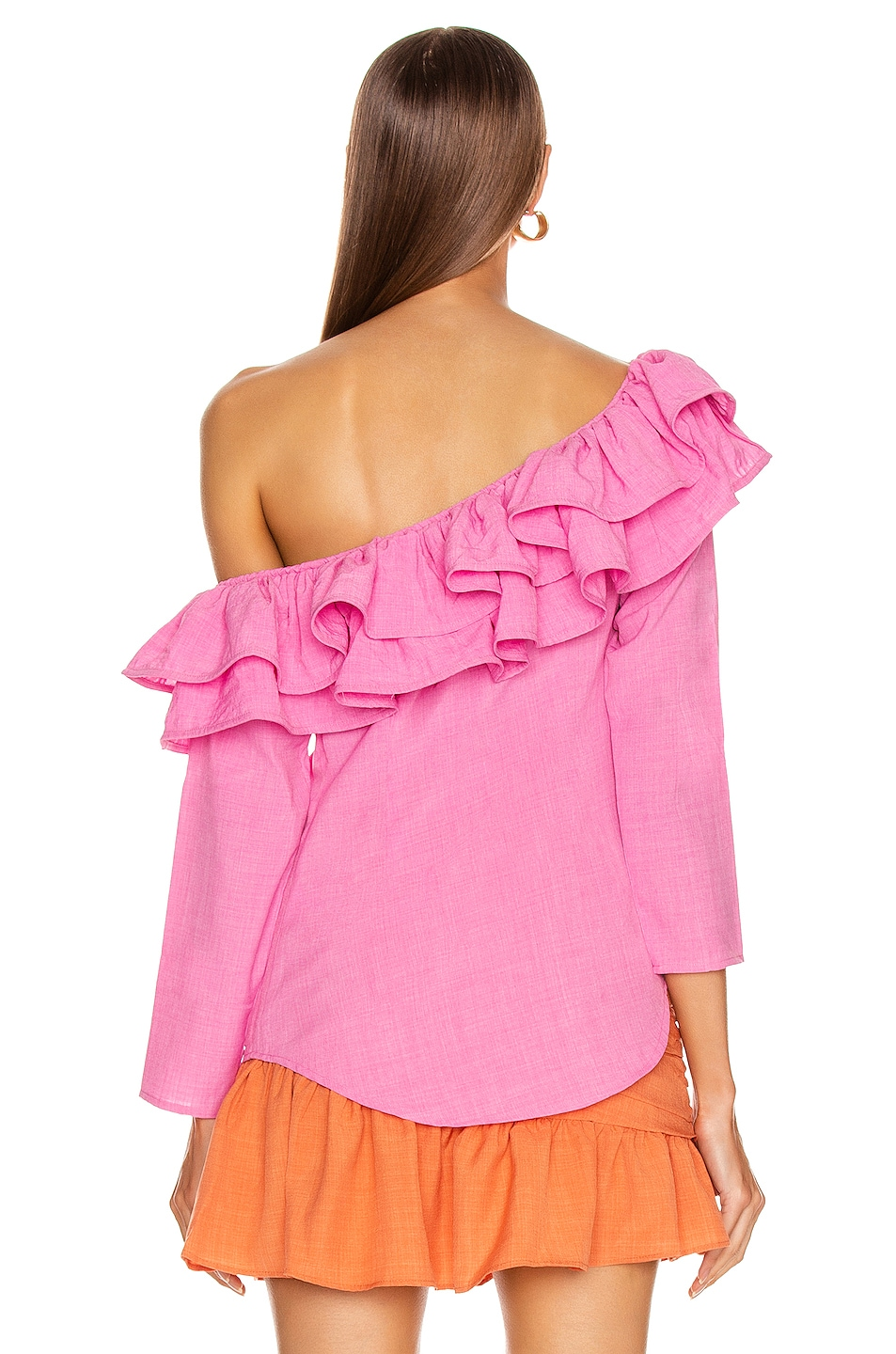 Image 4 of Atoir Not Going Back Top in Fuchsia Pink