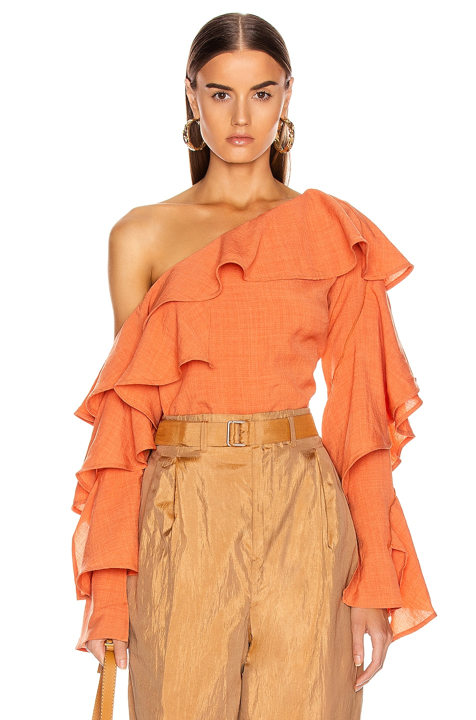 Image 1 of Atoir Give A Little Top in Sunset Orange