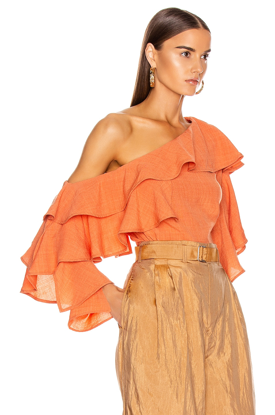 Image 2 of Atoir Give A Little Top in Sunset Orange