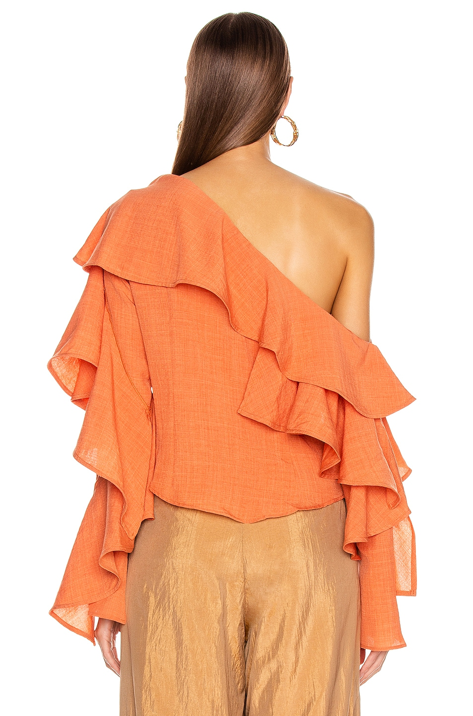 Image 4 of Atoir Give A Little Top in Sunset Orange