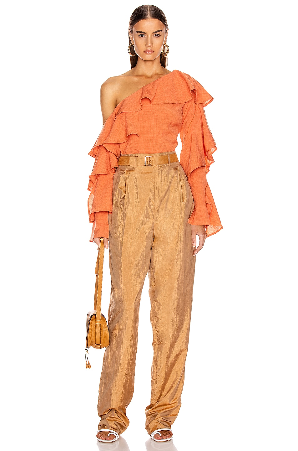 Image 5 of Atoir Give A Little Top in Sunset Orange