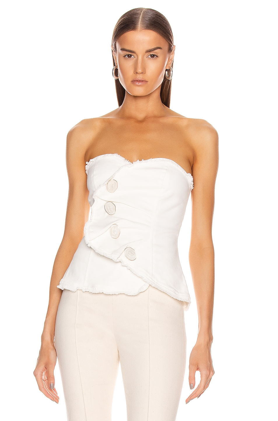 Image 1 of Atoir Give Me Love Top in Off White