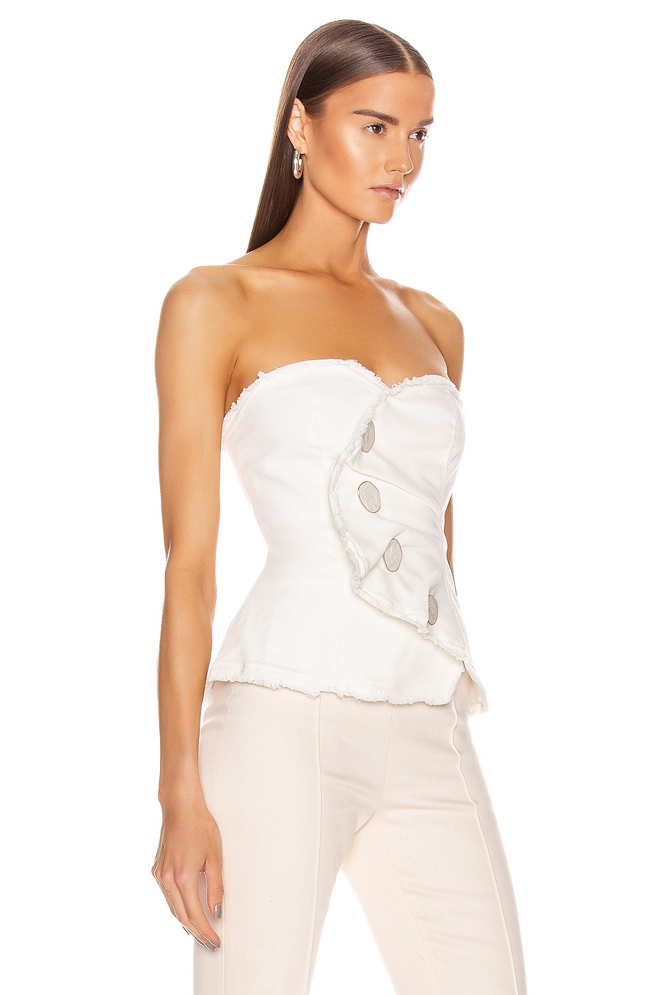 Image 2 of Atoir Give Me Love Top in Off White