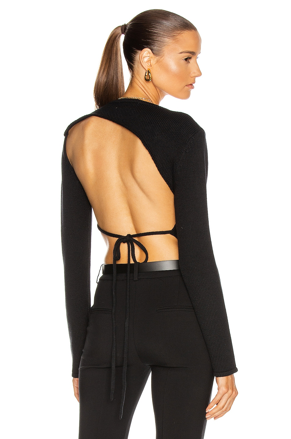 Image 1 of Atoir The Knock Out Top in Black