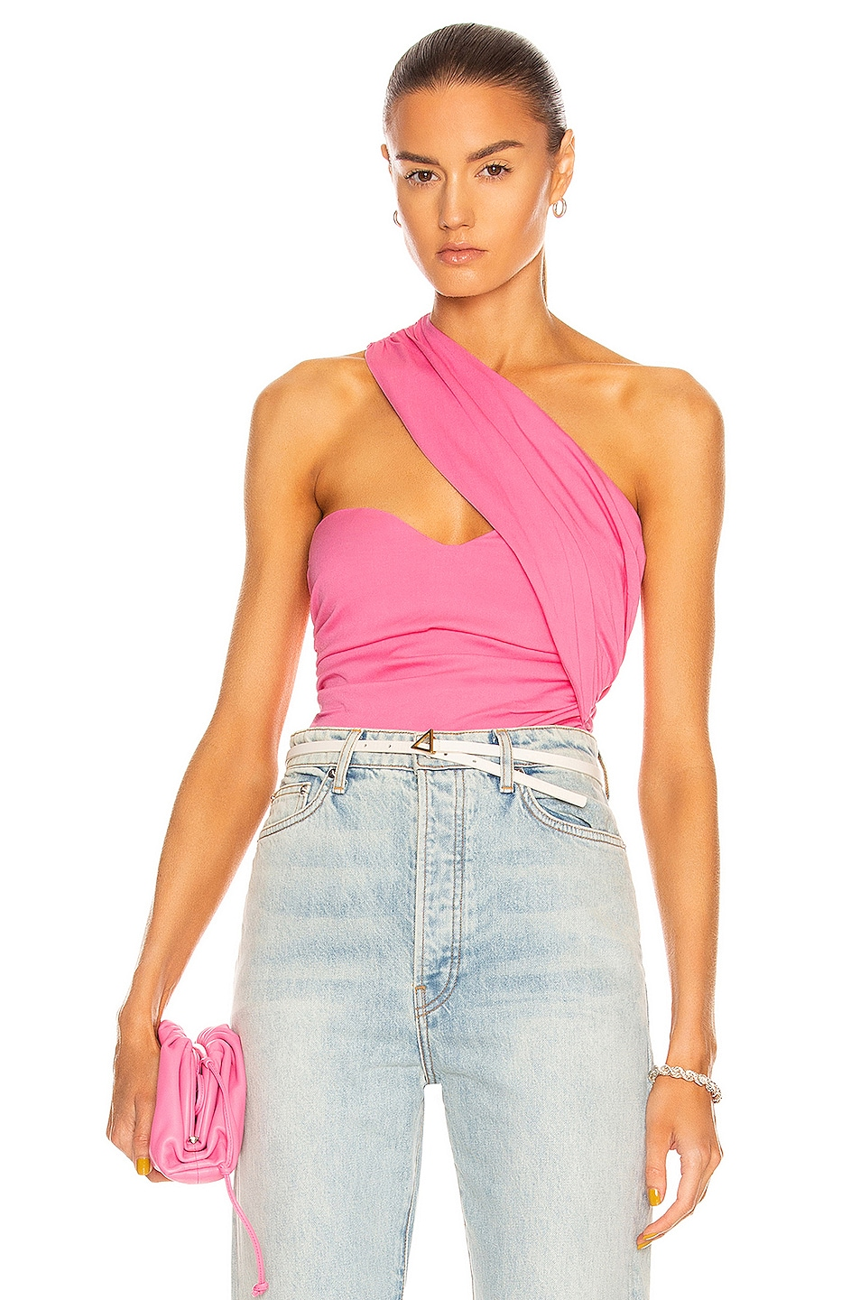 Image 1 of Atoir Never Really Over Bodysuit in Pink