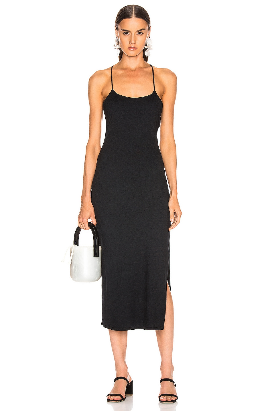Image 1 of AG Adriano Goldschmied Quail Dress in True Black