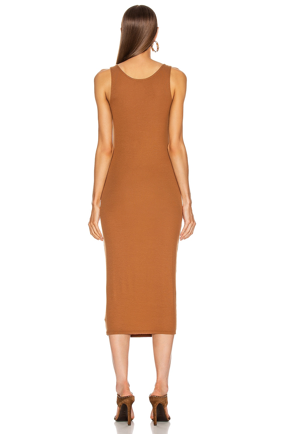 Image 3 of AG Adriano Goldschmied Viden Dress in Walnut Brown