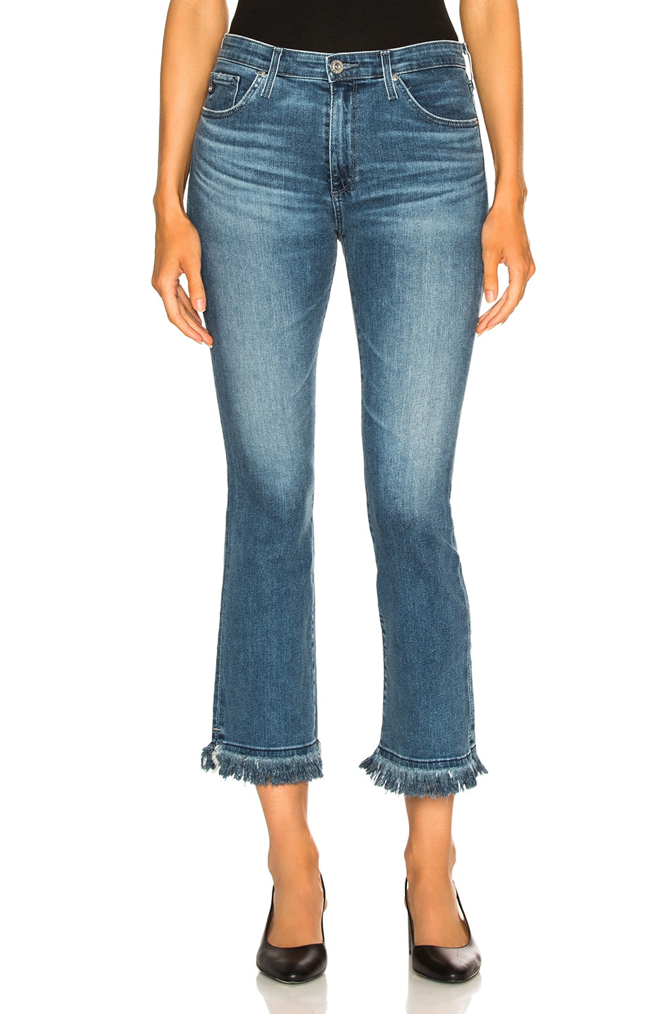 Image 1 of AG Adriano Goldschmied Jodi Crop Jeans in Pastoral Plains