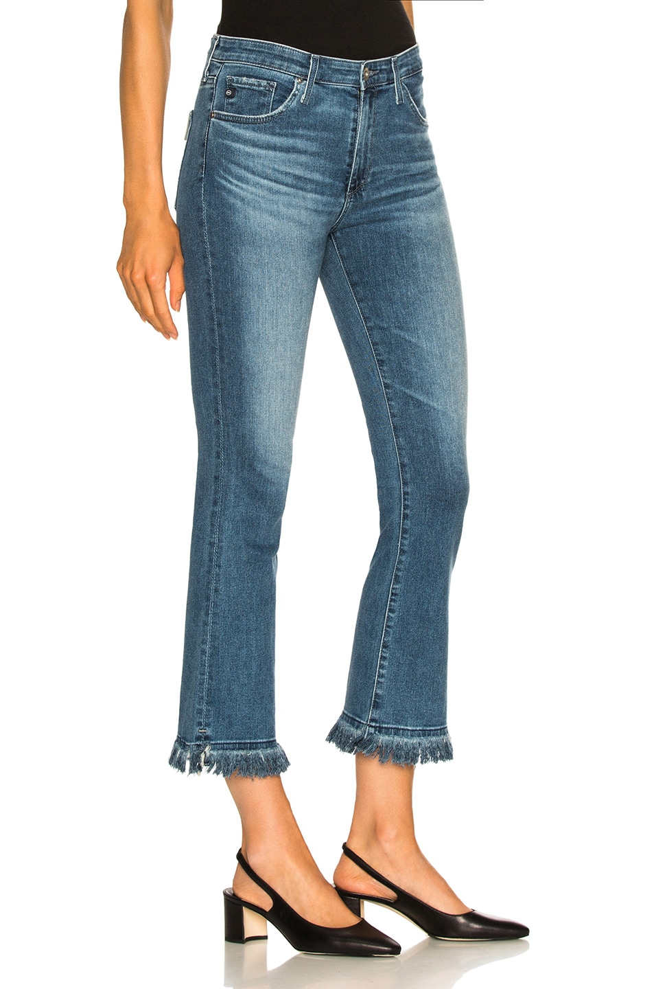Image 2 of AG Adriano Goldschmied Jodi Crop Jeans in Pastoral Plains