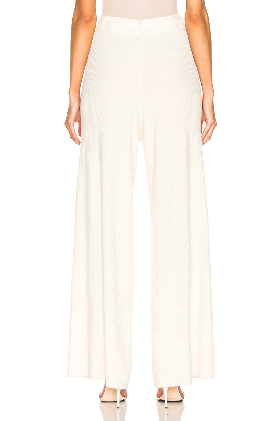 Image 3 of AG Adriano Goldschmied Quill Knit Pant in Ivory Dust