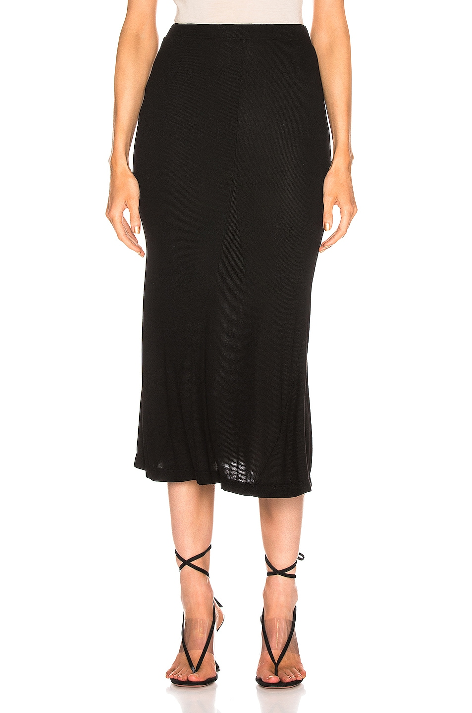 Image 1 of AG Adriano Goldschmied Peary Skirt in True Black