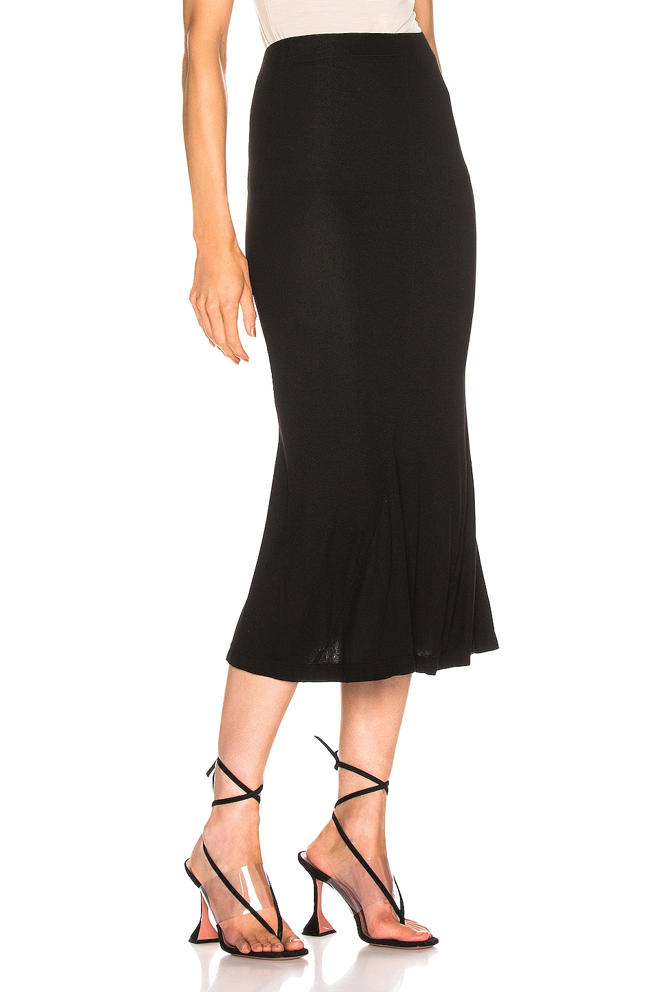 Image 2 of AG Adriano Goldschmied Peary Skirt in True Black