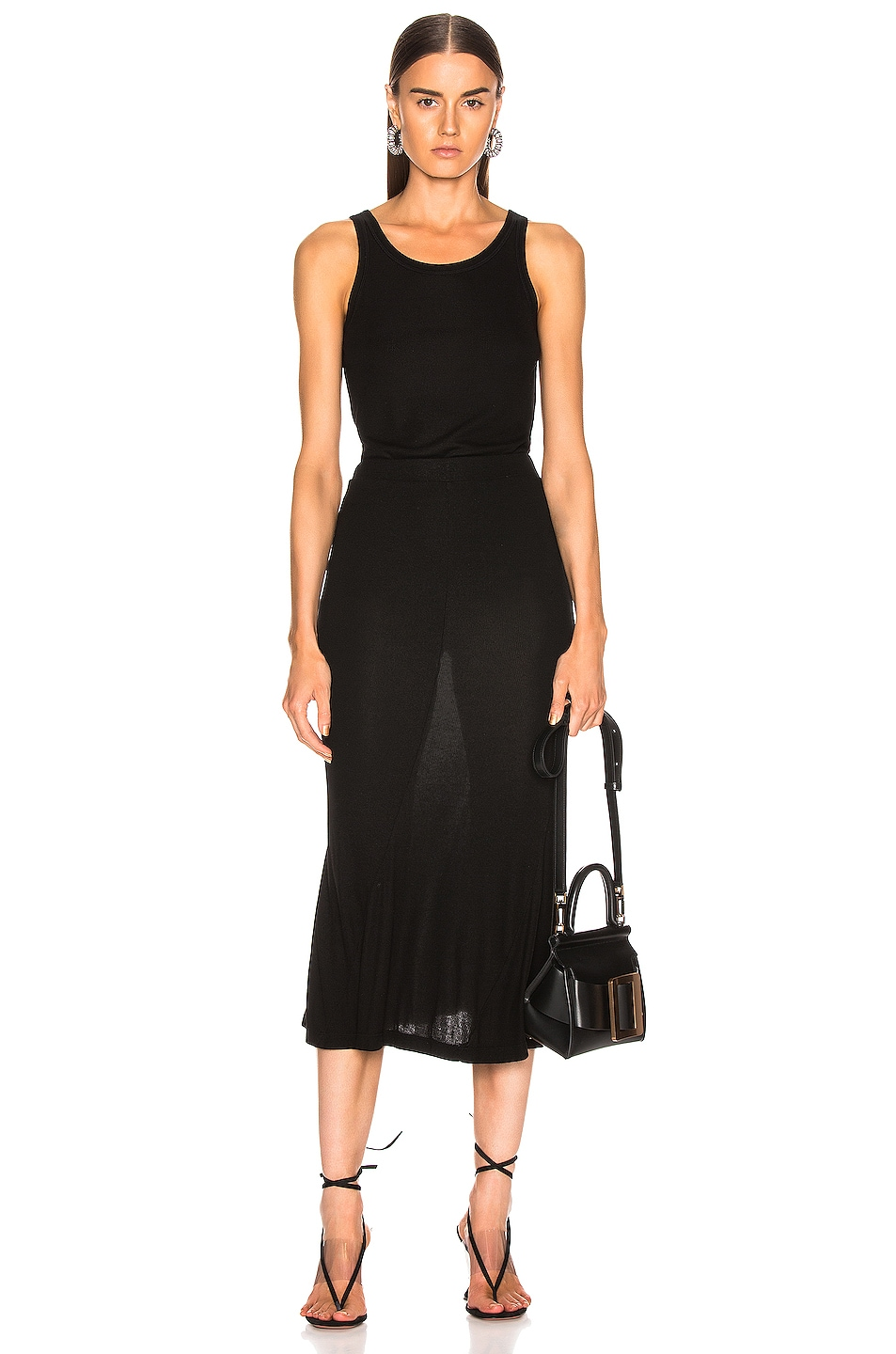 Image 4 of AG Adriano Goldschmied Peary Skirt in True Black