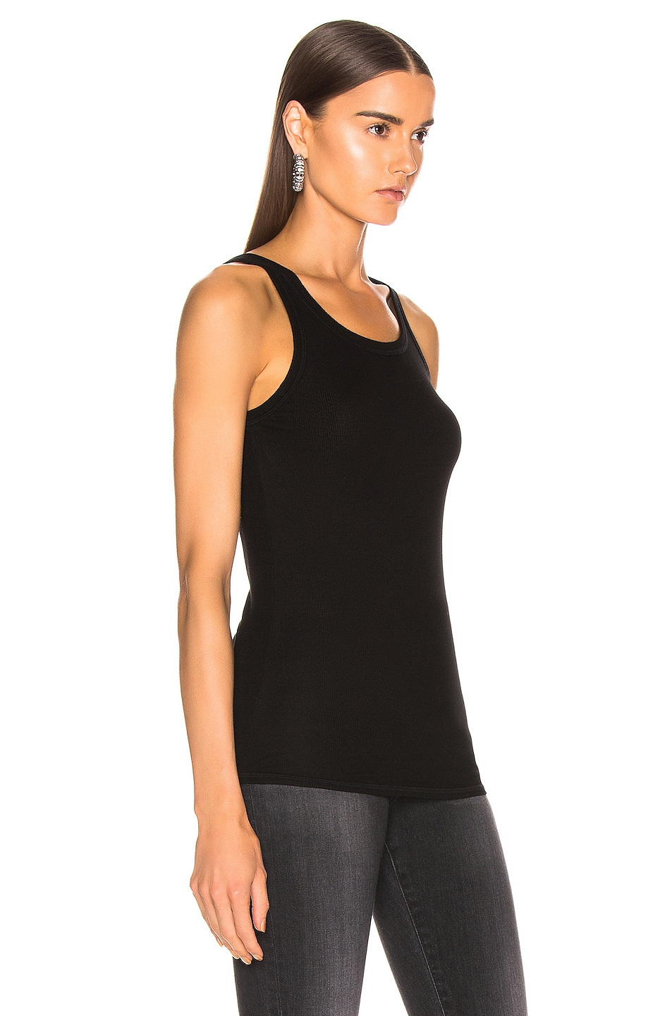 Image 2 of AG Adriano Goldschmied Ebby Tank in True Black