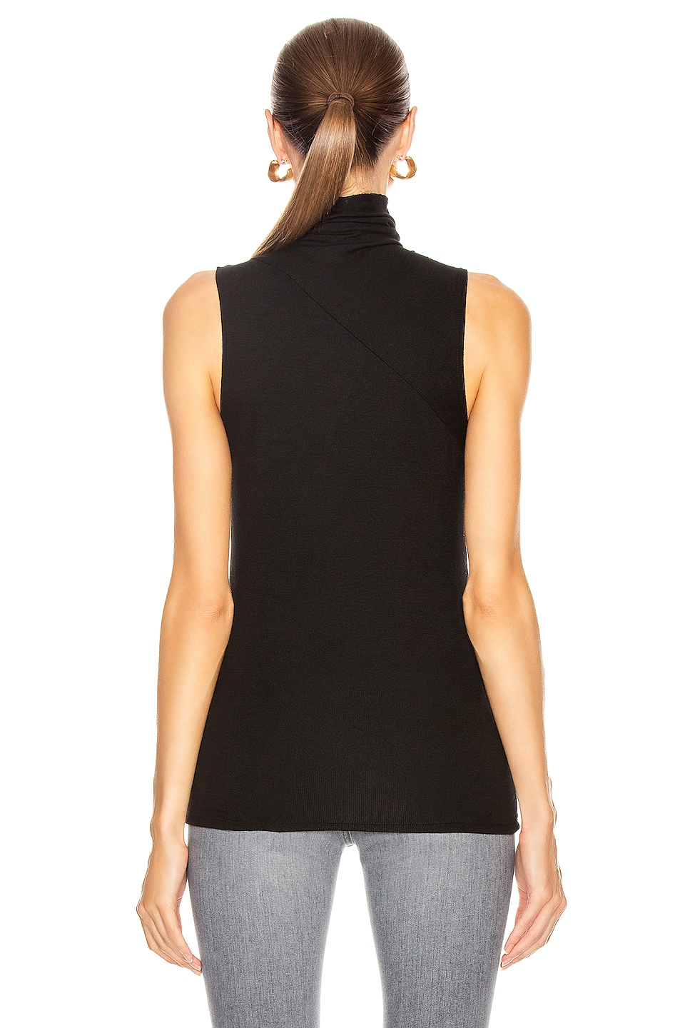 Image 3 of AG Adriano Goldschmied Sleeveless Chel Top in True Black