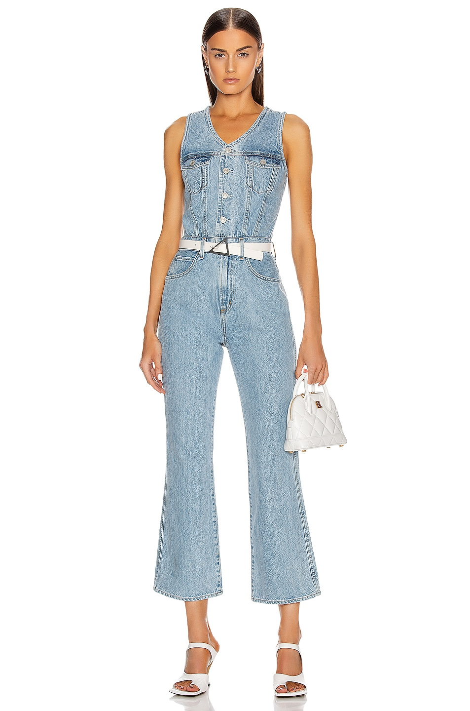 Image 1 of AGOLDE 70's Jumpsuit in Westward