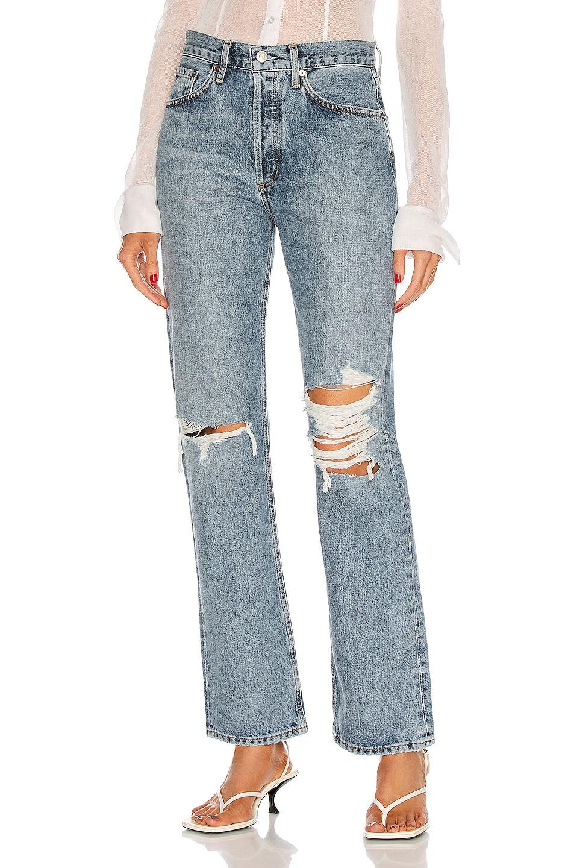 Image 1 of AGOLDE Lana Jean in Backdrop