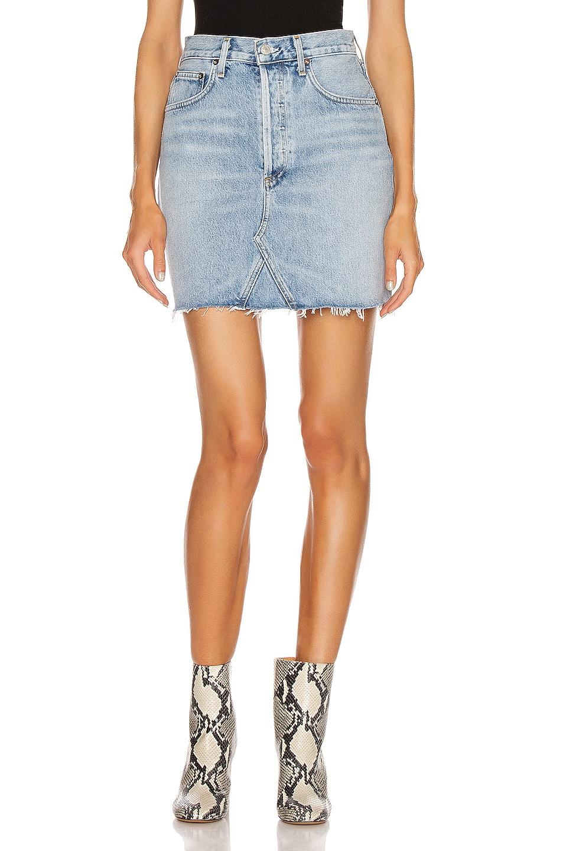 Image 1 of AGOLDE Ada Double Pocket Skirt in Serenade