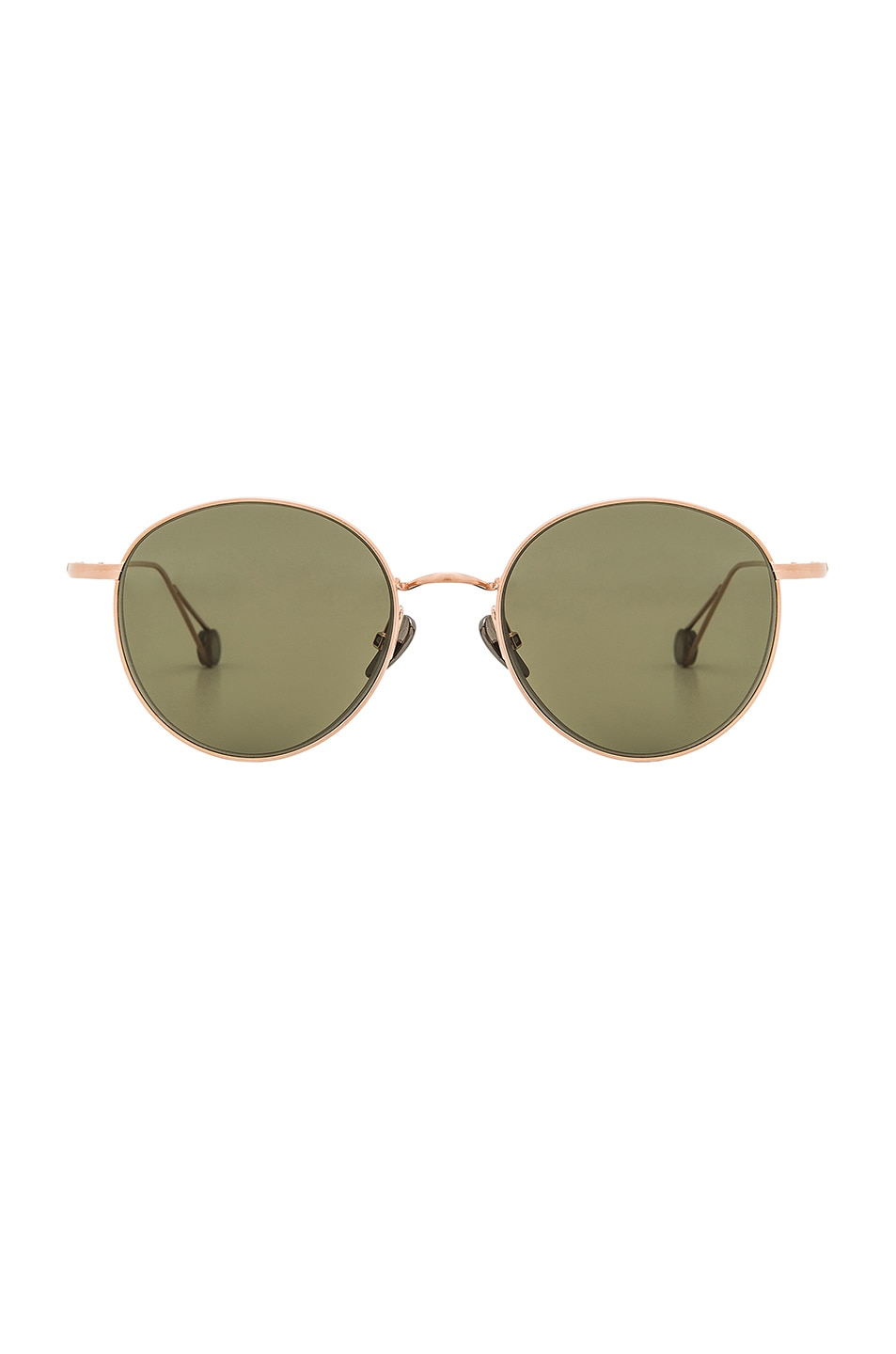Image 1 of Ahlem Madeleine Sunglasses in Champagne