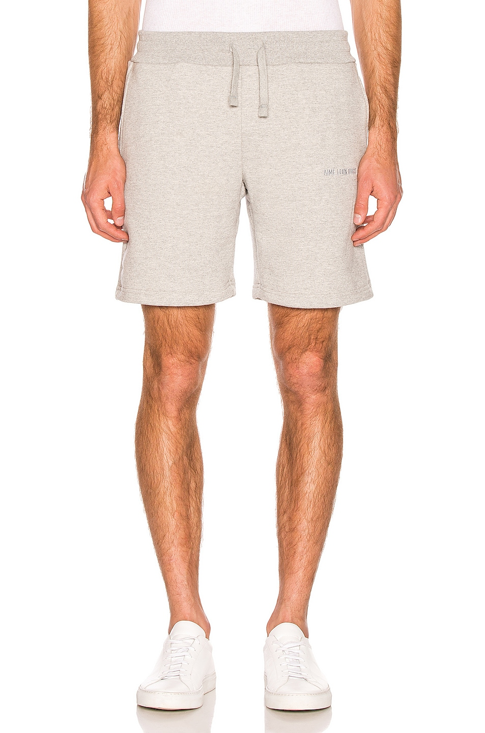 Image 1 of Aime Leon Dore French Terry Shorts in Heather Grey
