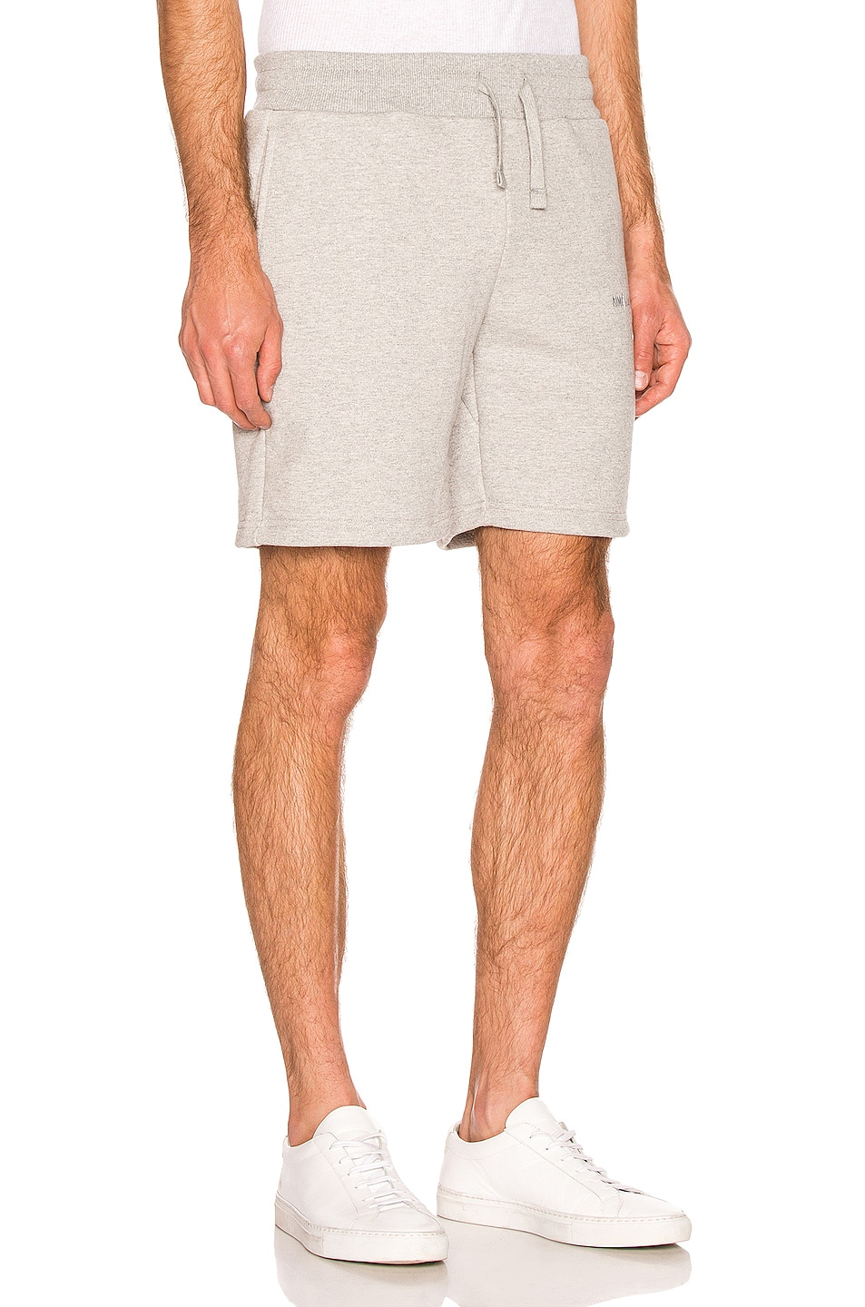 Image 2 of Aime Leon Dore French Terry Shorts in Heather Grey