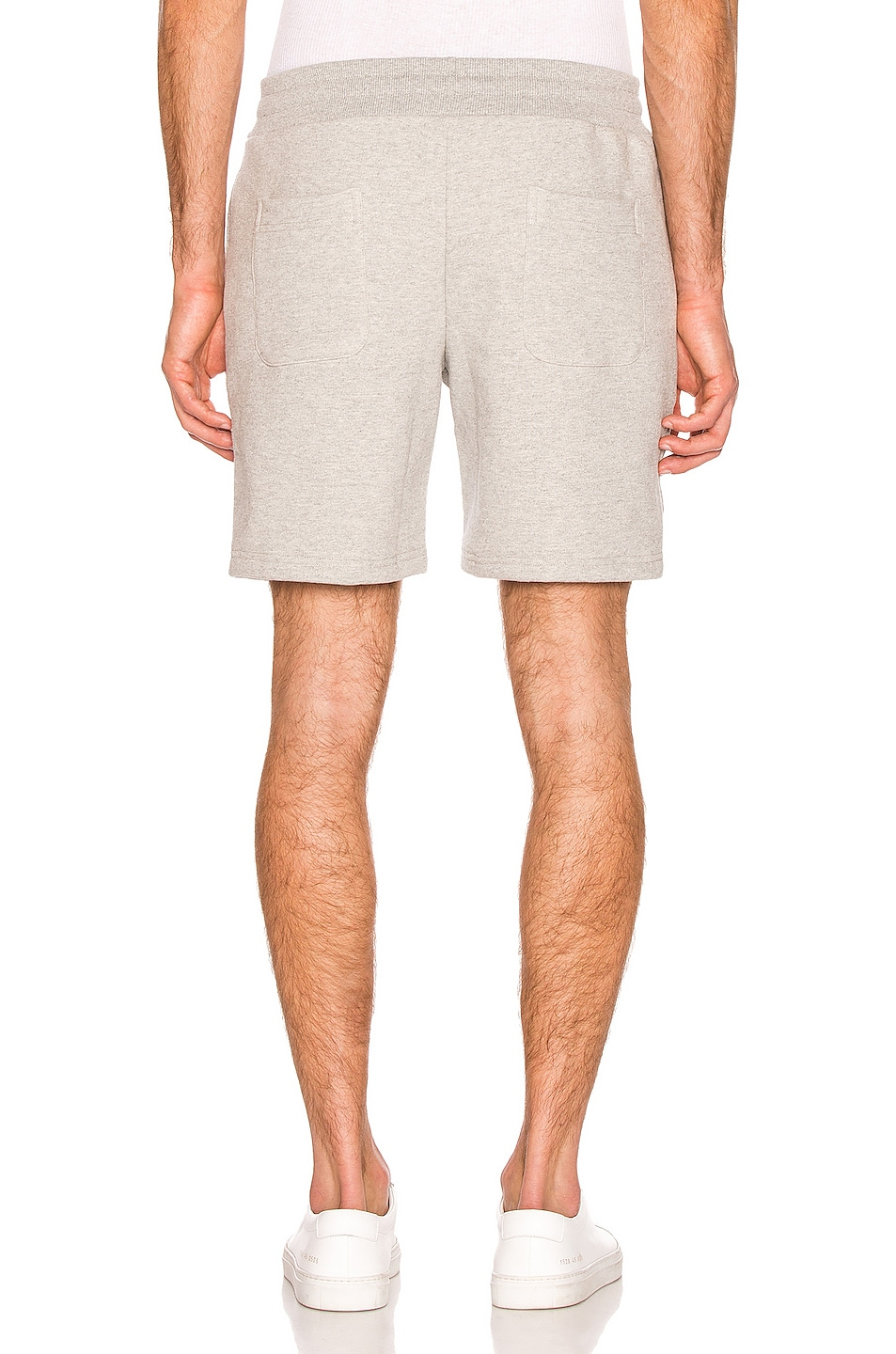 Image 4 of Aime Leon Dore French Terry Shorts in Heather Grey