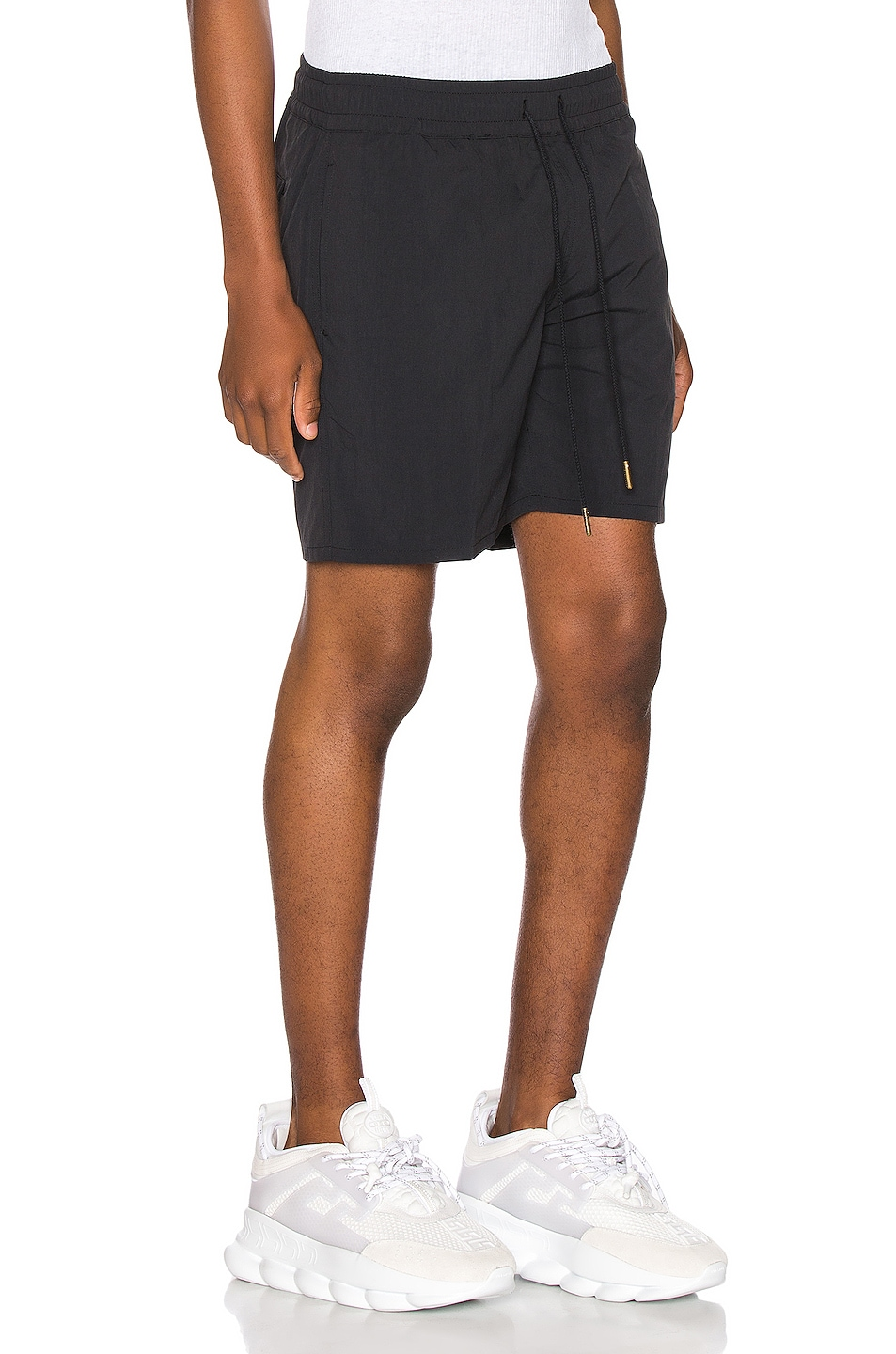 Image 3 of Aime Leon Dore Nylon Shorts in Black