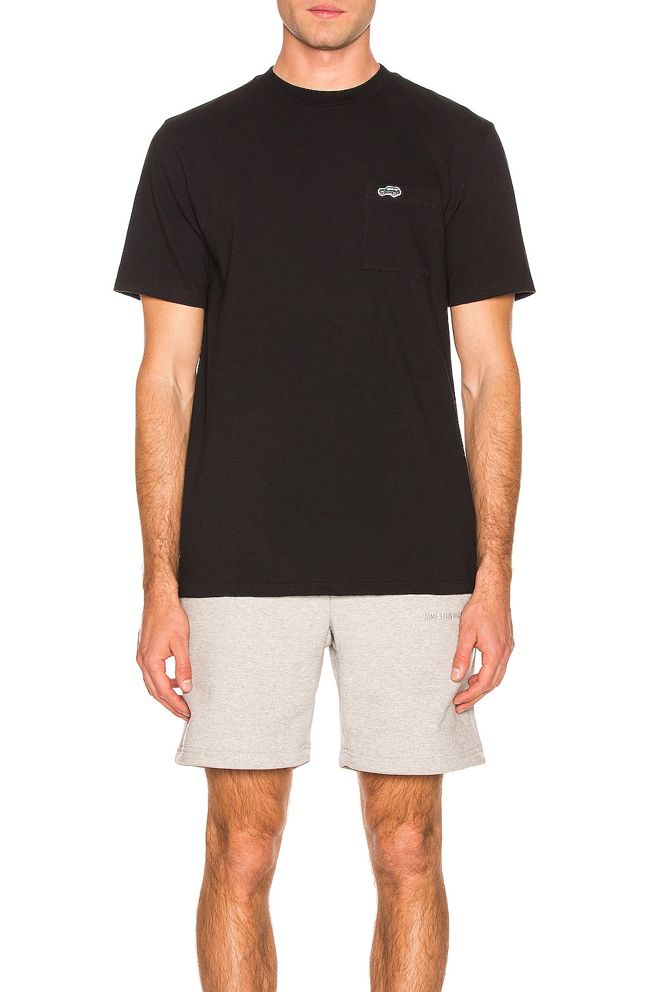 Image 1 of Aime Leon Dore Pocket With Patch Tee in Black