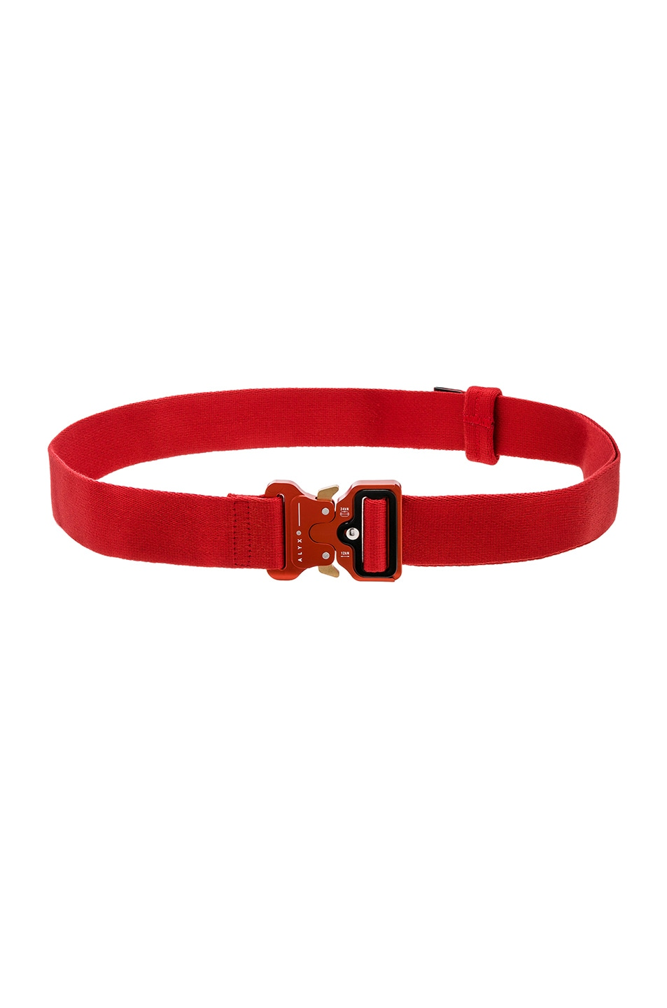 Image 1 of 1017 ALYX 9SM Classic Rollercoaster Belt in Red