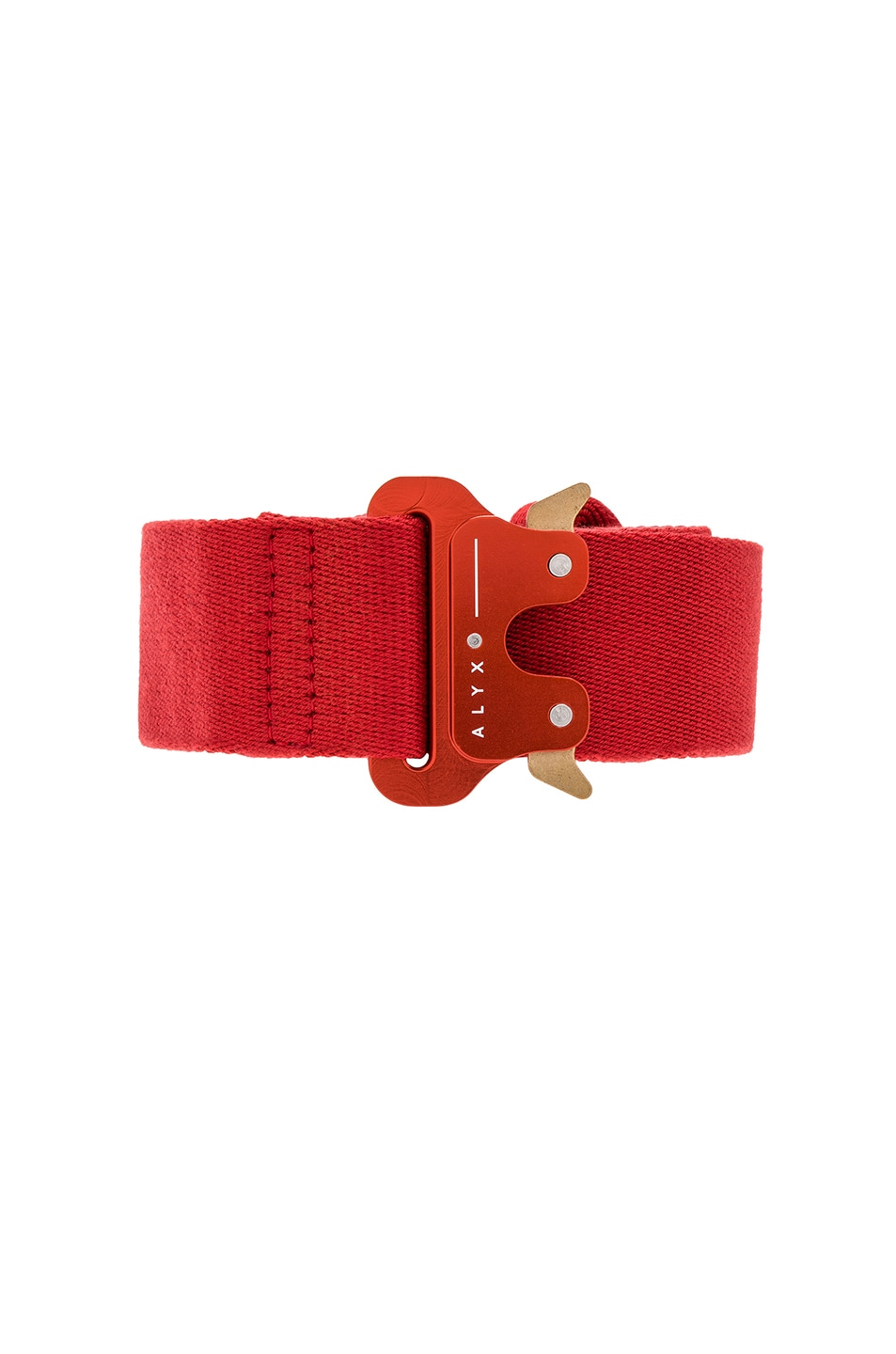 Image 3 of 1017 ALYX 9SM Classic Rollercoaster Belt in Red