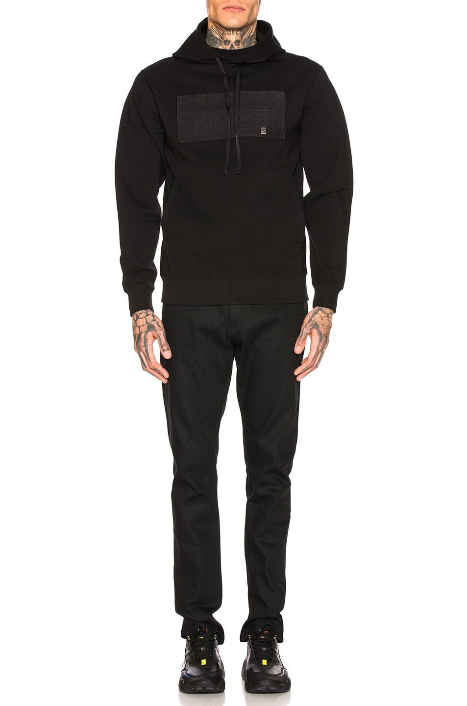 outlet 1017 ALYX 9SM Military Strap Hoodie Black
