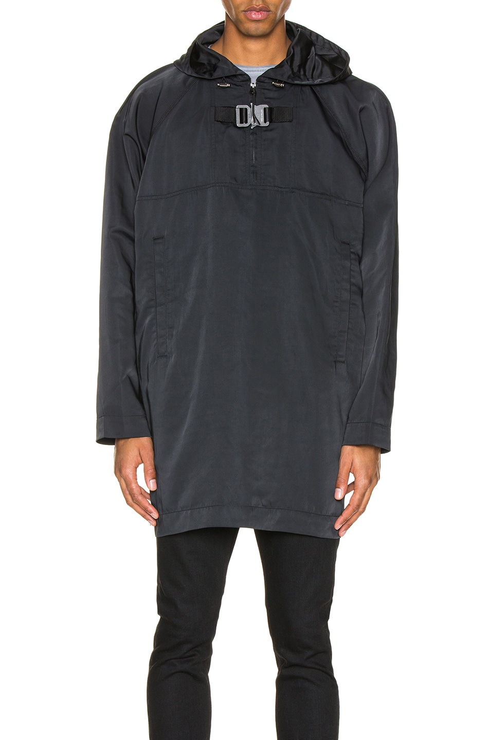 Image 1 of 1017 ALYX 9SM Hooded Pullover in Black