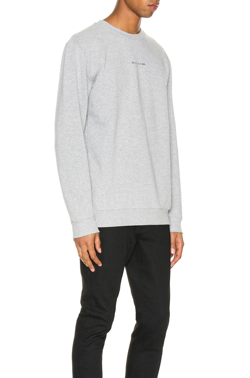 Image 2 of 1017 ALYX 9SM Visual Crew Neck in Grey