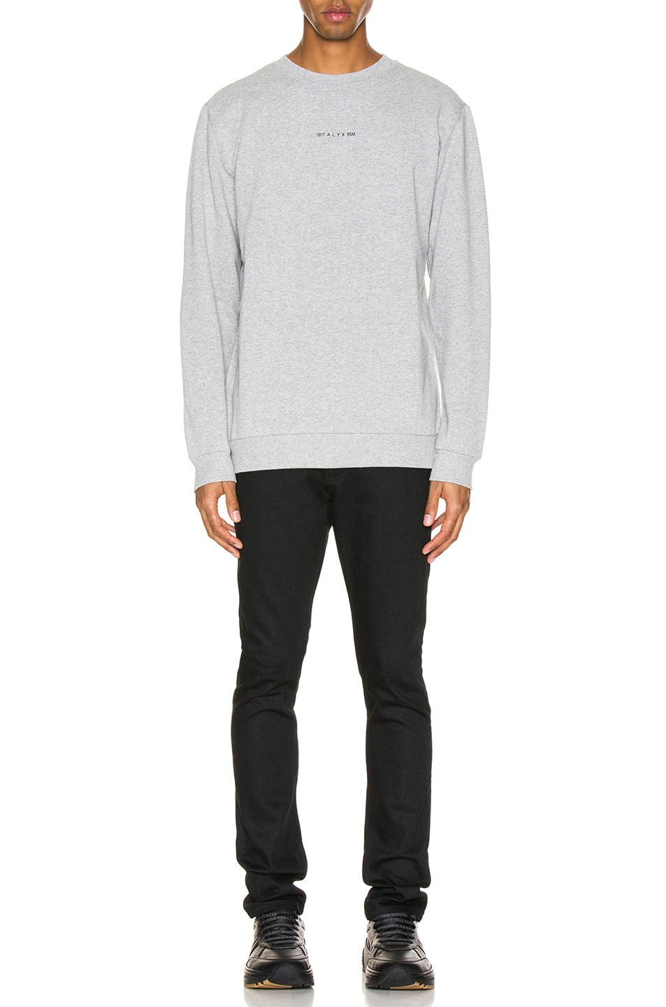 Image 4 of 1017 ALYX 9SM Visual Crew Neck in Grey