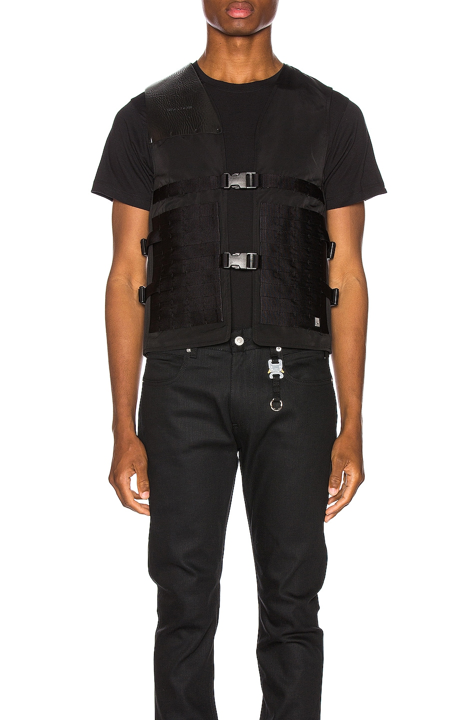 Image 1 of 1017 ALYX 9SM Trooper Brace Vest in Black