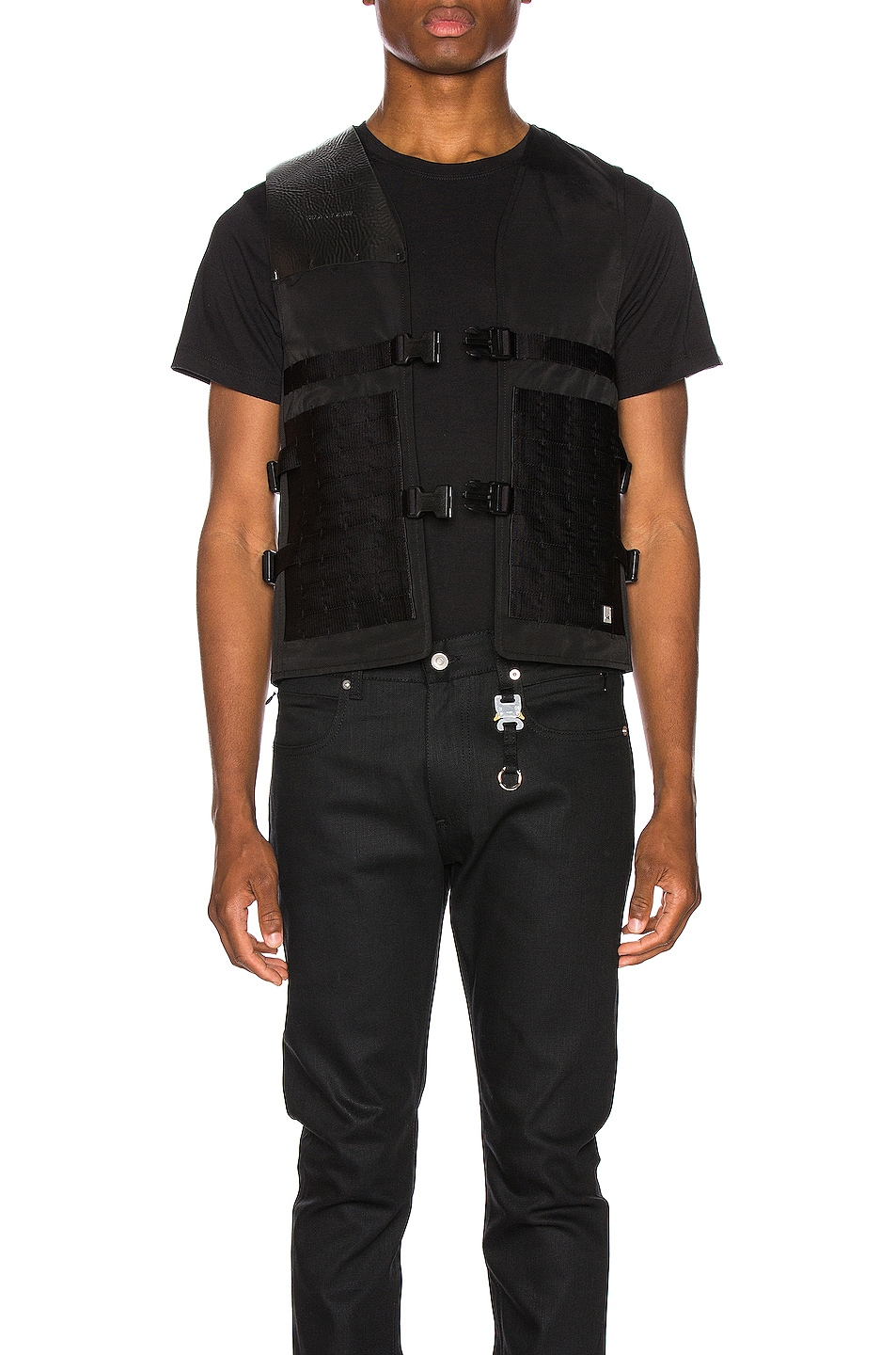 Image 2 of 1017 ALYX 9SM Trooper Brace Vest in Black