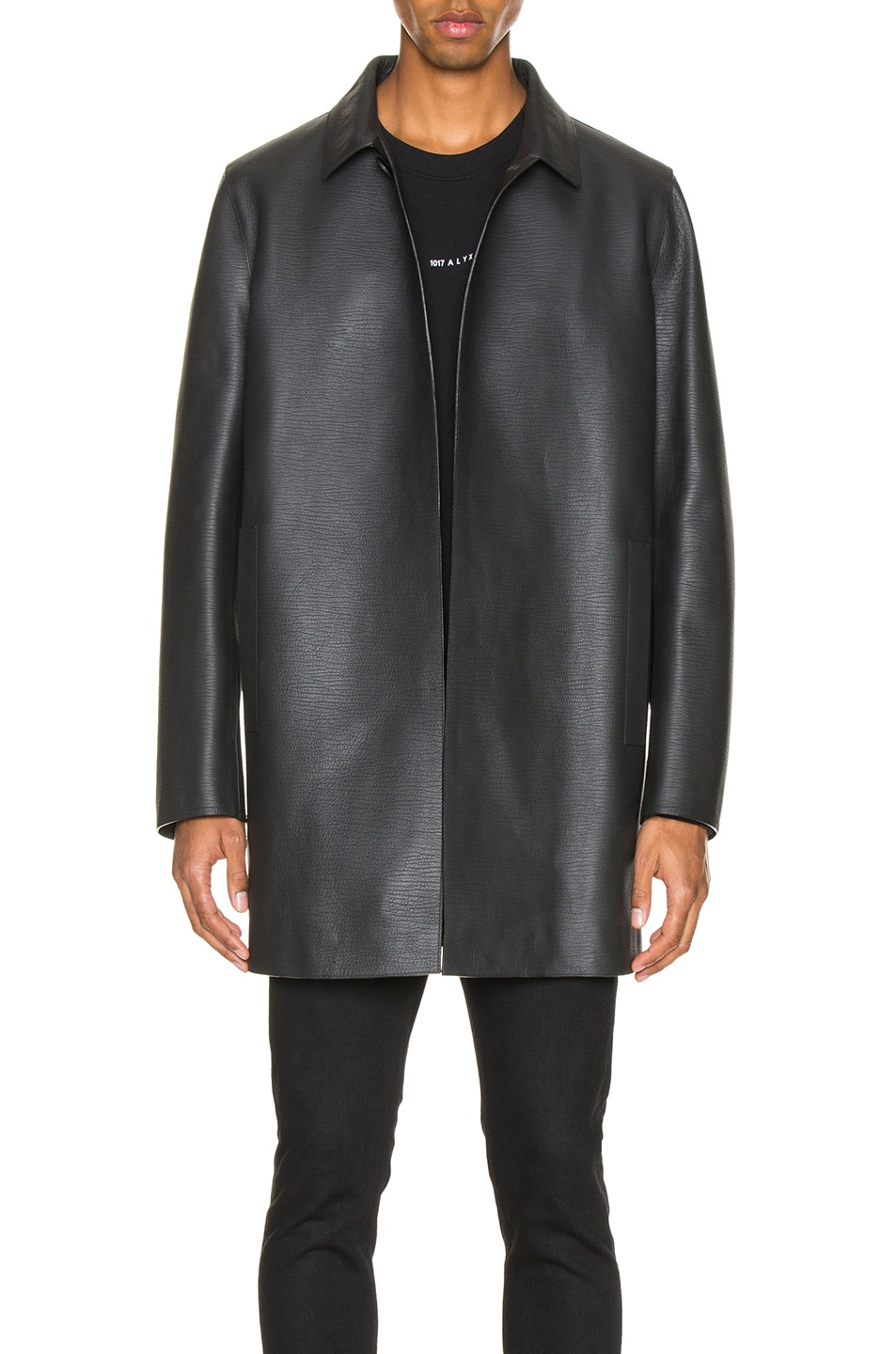 Image 1 of 1017 ALYX 9SM Leather Coats in Black